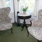 Safe Harbor Room sitting area - large room
