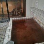 bañera del onsen