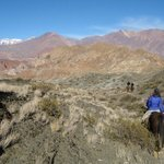 Horse Backride in the Andes