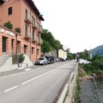 Hotel fronts lake Como