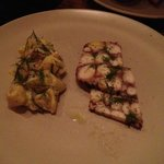 Octopus Terrine w/ potato salad
