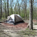 Tent Area of Campgrounds