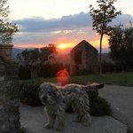 """""""Nebbia"""" (simpaticissimo) al tramonto"""