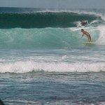 Incredible surf