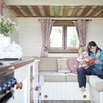 The Rosie Lee Gypsy Caravan (interior)