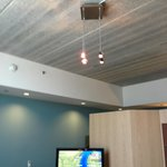 Concrete type ceiling