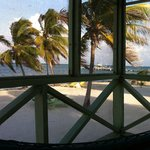 View from our palapa.