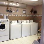 excellent laundry facility