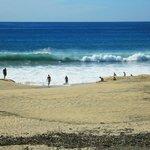 walk off to San Pedrito Surf Break