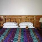 Big soft bed