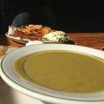 Fennel asparagus soup