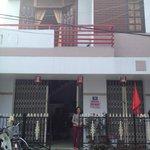 Facade of the family house
