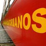 El tren de los Ecuatorianos en el Boliche
