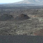 View of some cinder cones from the top of one.