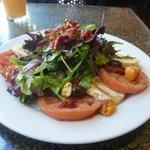 Massive mozzarella salad!