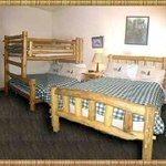 Bunk beds. Very sturdy and comfy!