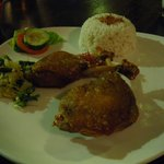 Fried duck or bebek