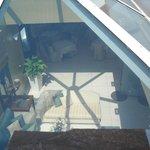 Lobby glass canopy