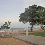 The Crab beach area