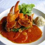 the crab menu that i like
