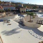 Main pool under repair refurbishment