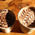 Cool hot chocolate