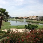 Outstanding views of golf course