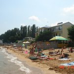 """Пляж отеля """"Золотые пески"""" Феодосия"""
