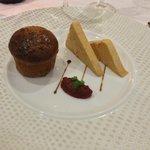 Foie gras et sa brioche au miel
