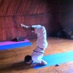 Prijitt before Yoga Class
