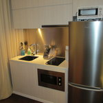 Studio room kitchenette area