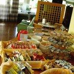 Il buffet della colazione