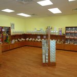 Interior of Dolle's: candy, taffy, fudge