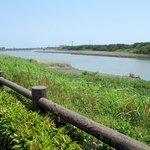 公園から見える馬込川