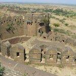 Th ramparts at Bidar Fort