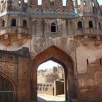 Entrance to Bidar Fort
