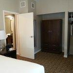 Large bedroom with plenty of 2 dressers & large closet