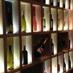 Mur de vins