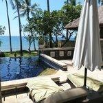 View from villa Samudra
