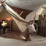 Shepherd's tent and RV