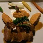 Magret de canard et purée de patates douces