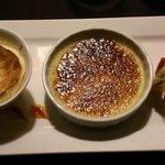 Crème brûlée au citron et son souflet
