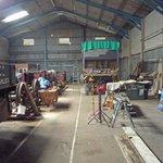 One of the restoration workshops