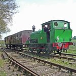 Wissington (On loan from the M&GNPS) propelling the train to the