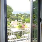 balcone vista roma imperale