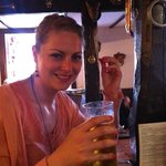 in pub