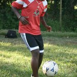 Macharia, top football junior trains here