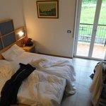 Zimmer / Blick auf Balkon