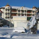 Das Kaiserschlößl im Schnee