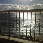 afternoon side balcony view